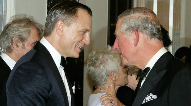 Prince Charles Daniel Craig Bond