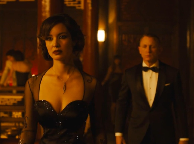 Berenice Marlohe Skyfall Photo