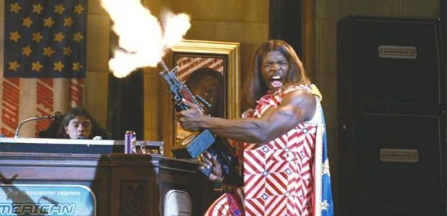 President Camacho press conference
