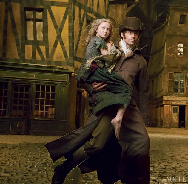 'Les Miserables' cast -- Vogue magazine photo feature