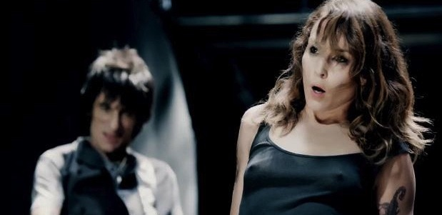 Rolling Stones Video Noomi Rapace
