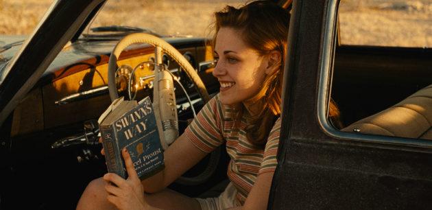 Kristen Stewart On The Road