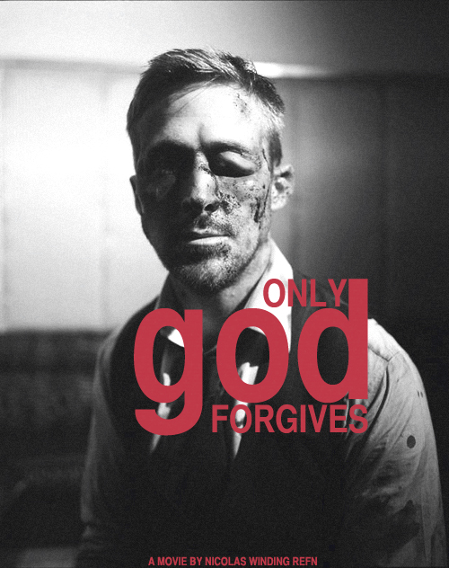 Ryan Gosling beaten up -- 'Only God Forgives' poster