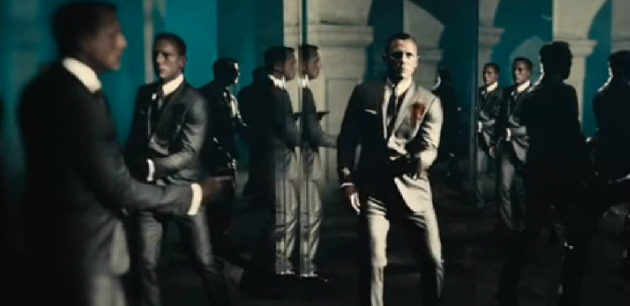 Skyfall Bond Title Sequence