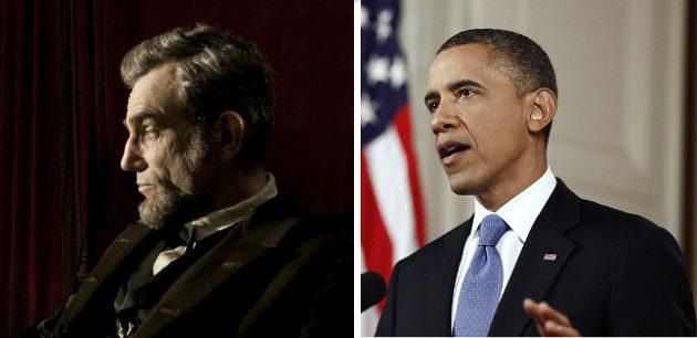 Spielberg Lincoln Obama