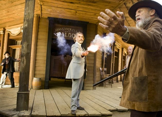 Golden Globes Christoph Waltz Django Unchained