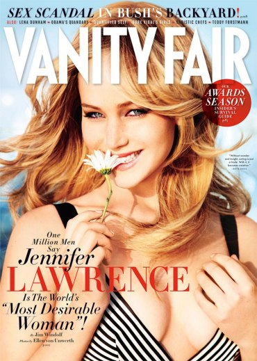 Jennifer Lawrence Vanity Fair Interview