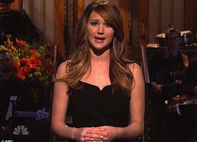 Jennifer Lawrence Saturday Night Live