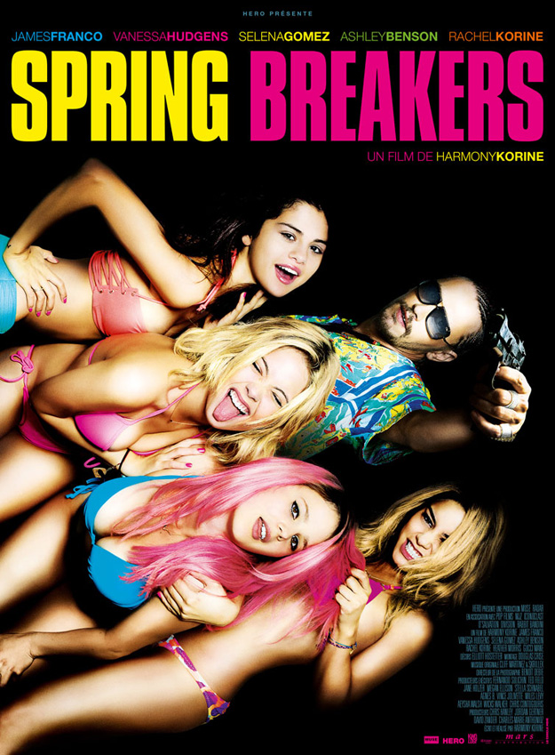 Spring Breakers French poster