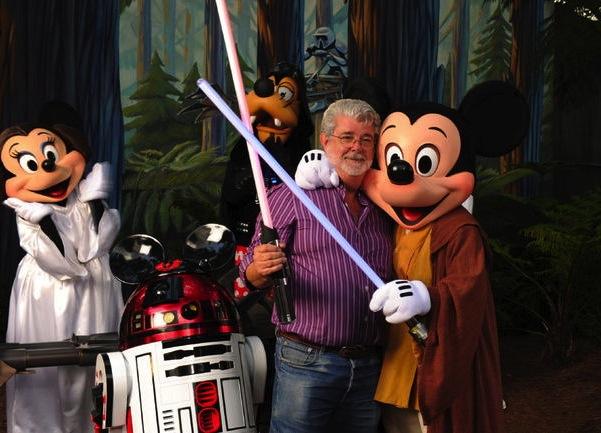 George Lucas Celebrity Resolutions