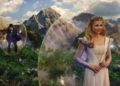 """""""OZ: THE GREAT AND POWERFUL""""James Franco, left; Michelle Williams, right©Disney Enterprises, Inc. All Rights Reserved."""
