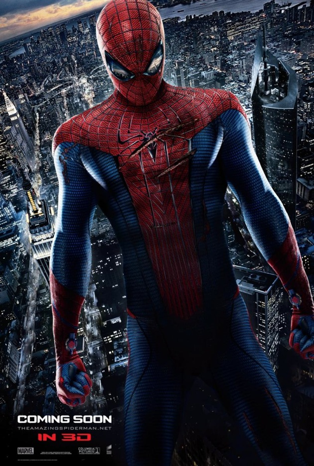Spiderman New Costume