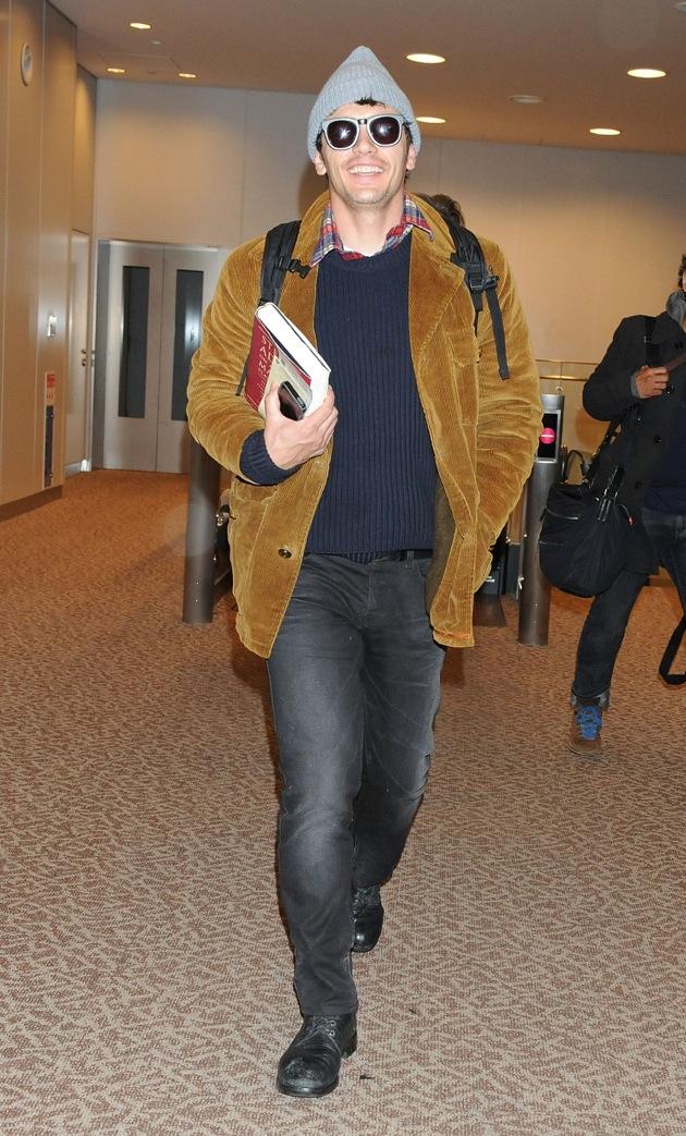 James Franco Smile